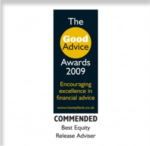 Good Advice Award 2009 With frame 650